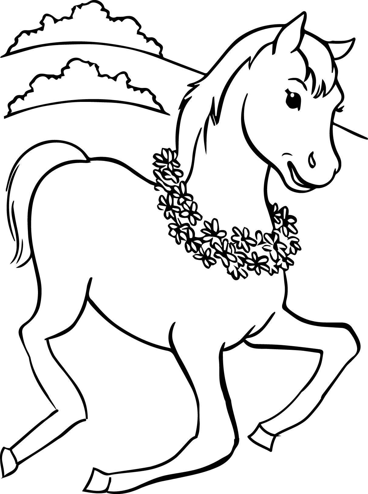 At Boyama Resimleri Hayvan Boyama Resimleri Hayvanlar