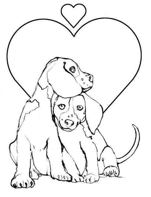 Köpek Boyama Resimleri6jpg Hayvanlar