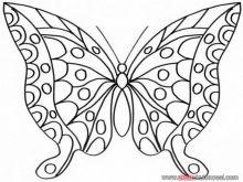Kelebek boyama resimleri