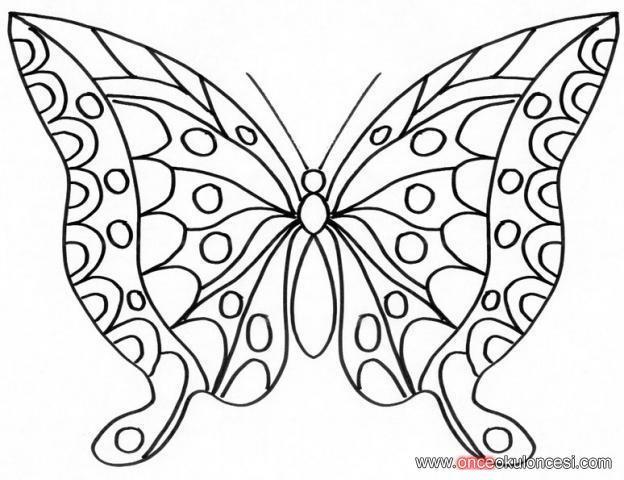 Kelebek Boyama Resimleri10jpg Hayvanlar