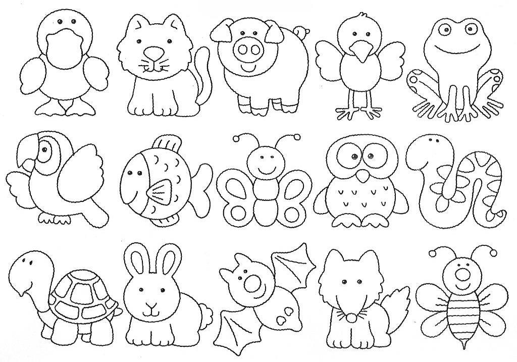 Hayvan Boyama Resimleri5jpg Hayvanlar